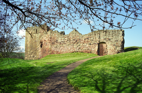 Hailes Castle, East Linton
