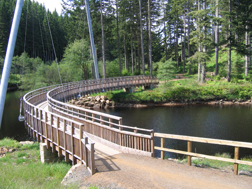 Lewis Burn bridge, Kielder