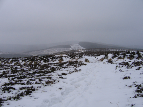 snow on Minch Moor